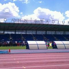 Photo taken at Icahn Stadium by Macho C. on 6/6/2012