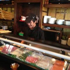 Photo taken at Sushi Thai Too by Debi P. on 5/7/2013