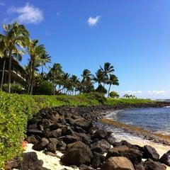 Photo taken at Ko'a Kea Hotel & Resort by Charlie V. on 10/28/2012
