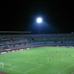 Photo taken at stadium ipoh by Firdaus K. on 11/9/2014