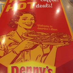 Photo taken at Denny's by Ramiro R. on 1/12/2013