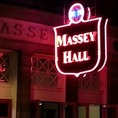 Photo taken at Massey Hall by Jimmy I. on 9/29/2012