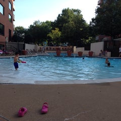 Photo taken at River Place Pool by T. N. on 6/23/2014