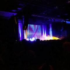 Photo taken at Mark G. Etess Arena by Chris S. on 8/16/2015