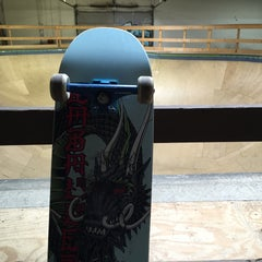 Photo taken at Cream City Skatepark by Clay K. on 10/3/2015