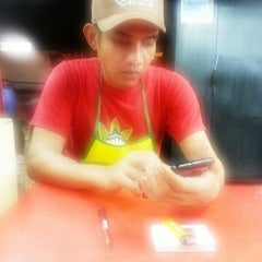 "Photo taken at Nasi Kukus ""Malaya Best"" by Jony B. on 4/22/2014"