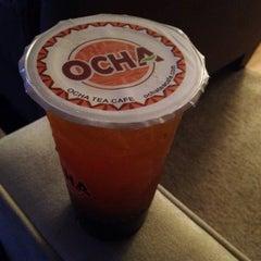 Photo taken at Ocha Tea Café by Zaid A. on 9/23/2013