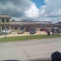Photo taken at MidWest Travel Plaza by Charlie M. on 6/10/2014