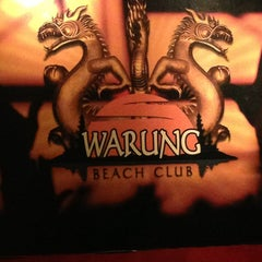 Photo taken at Warung Beach Club by Rafael R. on 2/11/2013