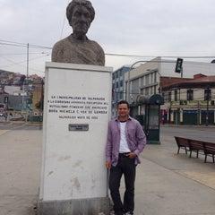Photo taken at Ilustre Municipalidad de Valparaiso by Gustavo B. on 5/1/2014
