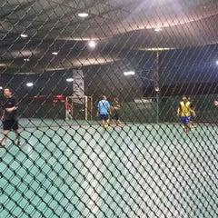 Photo taken at Galaxy Futsal Bangi by Syafiq A. on 8/7/2015