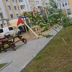 Photo taken at Strada Albișoara by Alexander B. on 5/12/2014