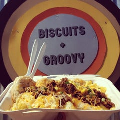 Photo taken at Biscuits + Groovy by Lani Love on 8/10/2013