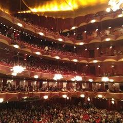 Photo taken at The Metropolitan Opera by Beate G. on 10/4/2012