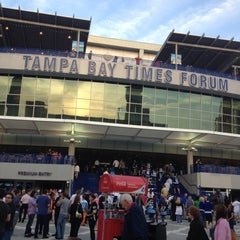 Photo taken at Amalie Arena by Rick D. on 4/11/2013