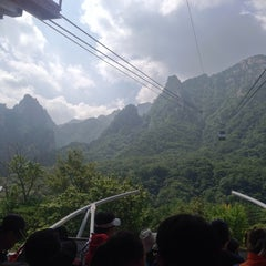 Photo taken at 설악케이블카 / Sorak Cable Car by Ross H. on 8/19/2013