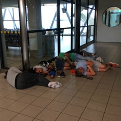 Photo taken at Gate D10 by Anton N. on 7/6/2014