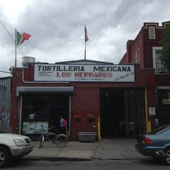 Photo taken at Tortilleria Mexicana Tres Hermanos by Rebecca F. on 6/8/2013
