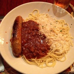 Photo taken at The Old Spaghetti Factory by Emily S. on 2/18/2013