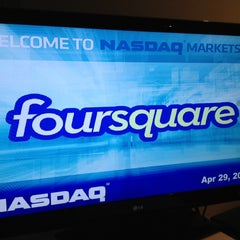 Photo taken at Nasdaq by Helen on 4/29/2013