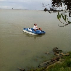 Photo taken at Lake Albert Caravan Park by Nicholas T. on 2/26/2012