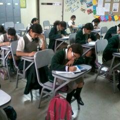 Photo taken at Colegio San Ignacio de Recalde by Claudia F. on 8/31/2012