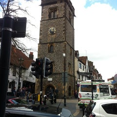 Photo taken at St Albans Clock Tower by Emré A. on 5/4/2013