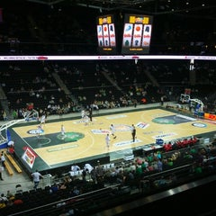 Photo taken at Žalgirio Arena | Zalgiris Arena by Rimvydas T. on 5/15/2013