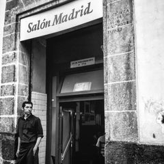 Photo taken at Cantina Salón Madrid by Jonathan F. on 6/5/2015