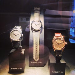 Photo taken at Officine Panerai Boutique NYC by Matthew K. on 5/6/2014