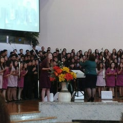 Photo taken at Igreja Adventista Do Sétimo Dia Do IACS by Eric Q. on 5/17/2014