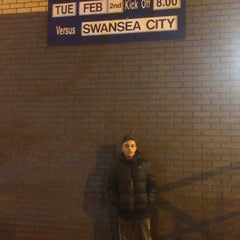 Photo taken at The Hawthorns by Martin H. on 2/2/2016