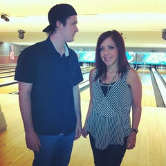Photo taken at Valencia Lanes by Beth M. on 4/18/2013