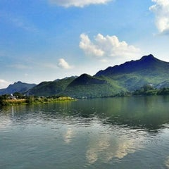 Photo taken at Island Resort River Kwai by FQuinn J. on 12/9/2012