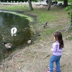 Photo taken at Meshanticut Park by Kyle P. on 5/24/2014