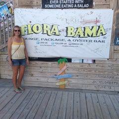 Photo taken at Flora-Bama Lounge, Package, and Oyster Bar by Mike G. on 6/17/2013