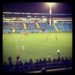Photo taken at Estádio Aderbal Ramos da Silva (Ressacada) by Pedro C. on 5/28/2013