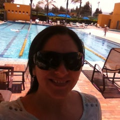 Photo taken at Arrayanes Country Club by Lorena J. on 8/3/2014