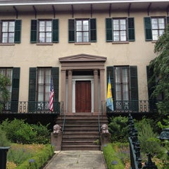 Photo taken at Andrew Low House Museum by Jennifer F. on 8/22/2013