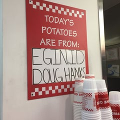 Photo taken at Five Guys by John F. on 1/11/2016