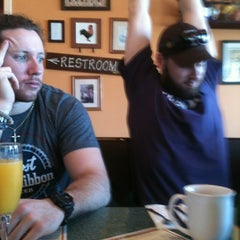 Photo taken at Egg River Cafe by Amber on 3/9/2013