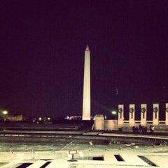Photo taken at World War II Memorial by patrick n. on 1/21/2013