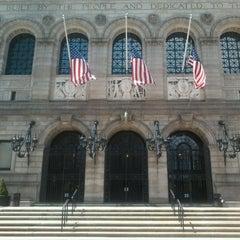 Photo taken at Boston Public Library by John P. on 5/5/2013