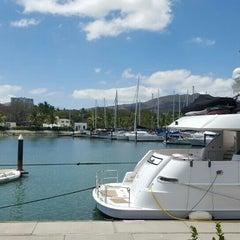 Photo taken at Marina Riviera Nayarit by Renato V. on 4/1/2016