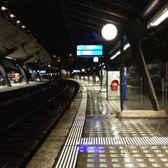 Photo taken at Bahnhof Zürich Stadelhofen by Manuel Z. on 11/4/2012