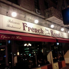 Photo taken at French Roast by Gianni C. on 1/18/2013