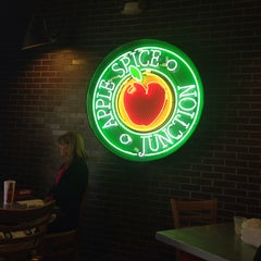 Photo taken at Apple Spice Junction by Christian H. on 10/22/2013
