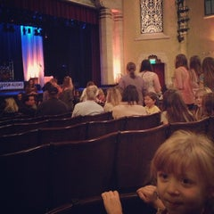 Photo taken at The Marjorie Luke Theatre by Amy L. on 10/28/2012