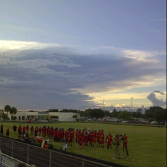 Photo taken at Santaluces High School by Carlos P. on 9/28/2012