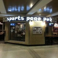 Photo taken at Sports Page Pub by Jeff L. on 12/15/2013